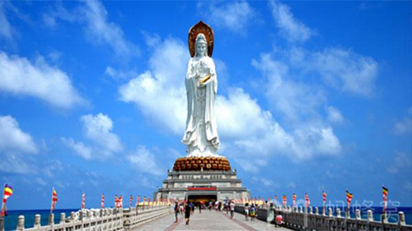 海南三亚半自由行-南山佛教文化院
